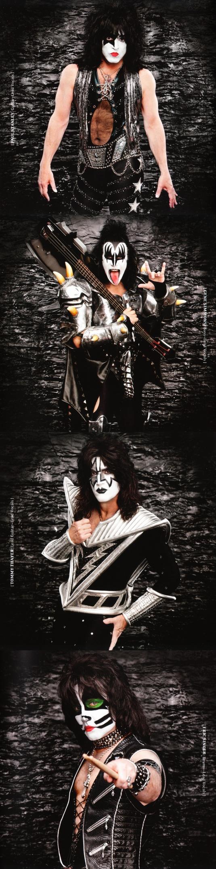 Новый альбом Kiss. Легкий росчерк страшной хит-машины сорокалетней